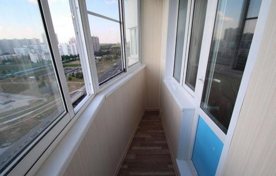 Остекление балкона в домах типовых серий дома. копэ, 44т, ст.
