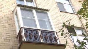 Балкон в сталинке