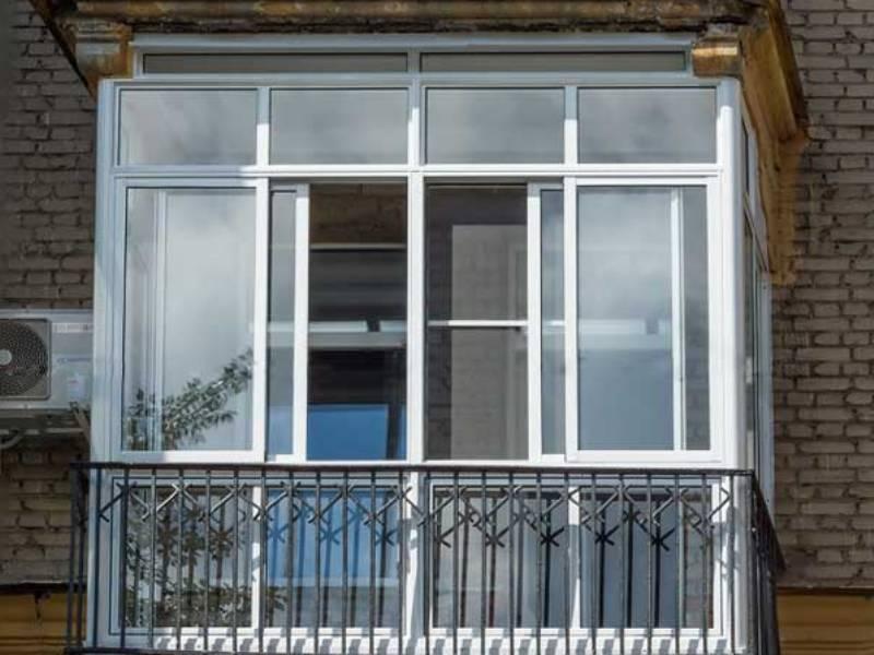 Застеклить балкон алюминиевым профилем. фото. цена.