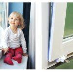 Безопасность малыша с детским замком на окнах