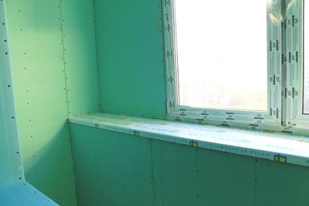 Отделка балкона и лоджии гипсокартоном своими руками. пошаго.