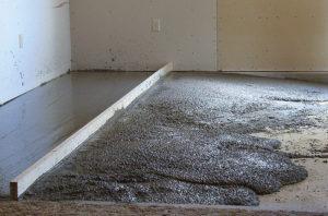 Цементно-песчанная стяжка