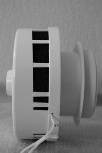 Вентиляционный клапан на лоджии