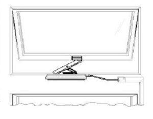 Фрамужная система открывания окон