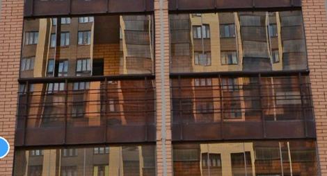 Легкое остекление балкона